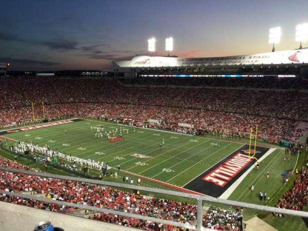 Cardinal Stadium, secção: S1, fila: A, lugar: 2