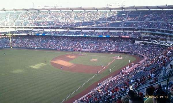 Angel Stadium, secção: V505, fila: L, lugar: 12
