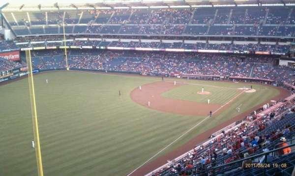 Angel Stadium, secção: V505, fila: L, lugar: 13