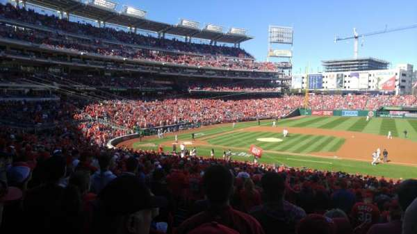 Nationals Park, secção: 130, fila: UU, lugar: 5