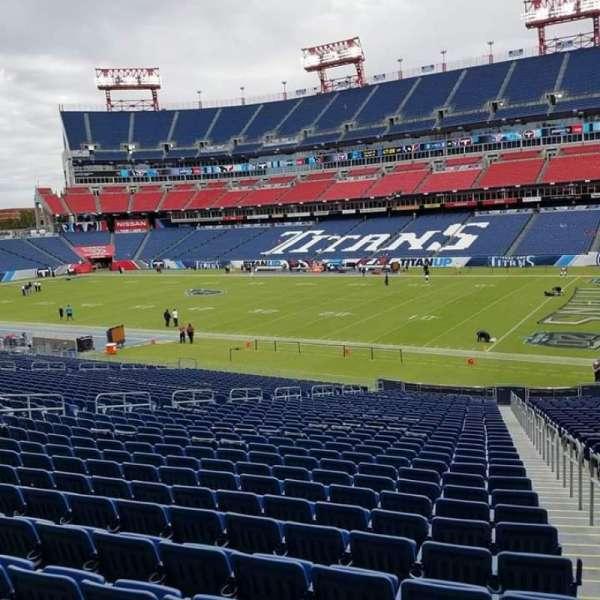 Nissan Stadium, secção: 131, fila: KK, lugar: 8