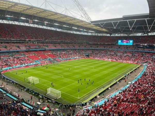 Wembley Stadium, secção: 534, fila: 15, lugar: 226