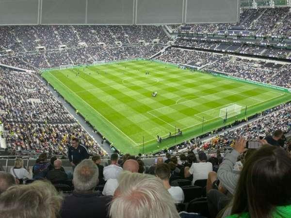 Tottenham Hotspur Stadium, secção: 519, fila: 18, lugar: 624
