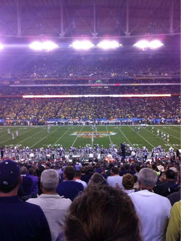 State Farm Stadium, secção: 129, fila: 35, lugar: 17