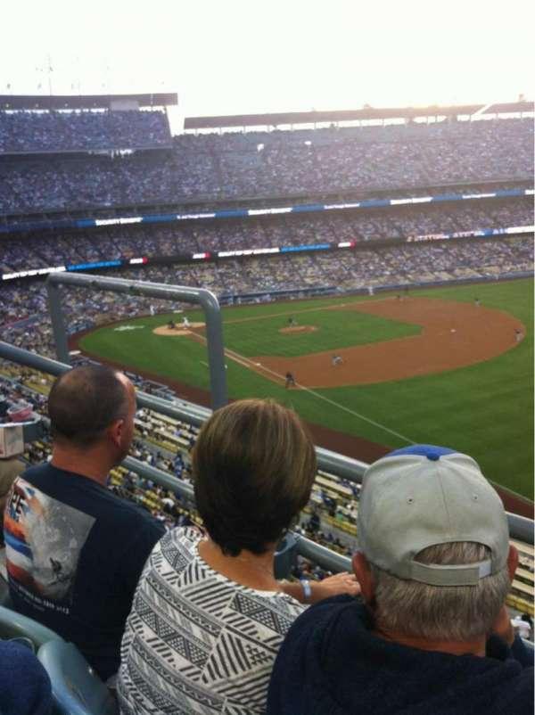 Dodger Stadium, secção: 44RS, fila: B, lugar: 4