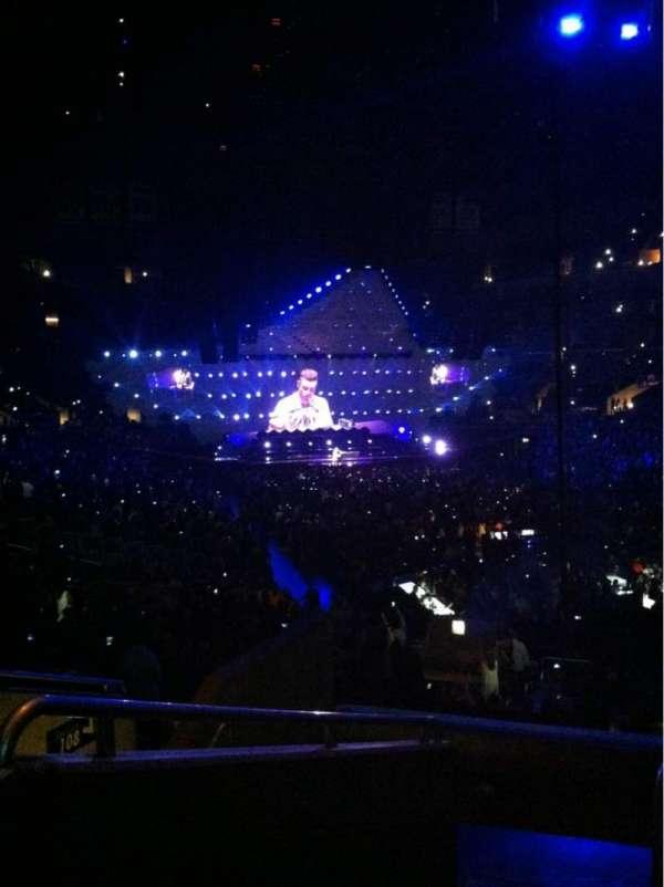 Staples Center, secção: 209, fila: 7, lugar: 16