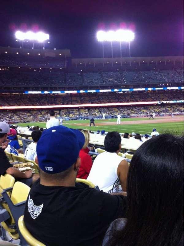 Dodger Stadium, secção: 42FD, fila: C, lugar: 3