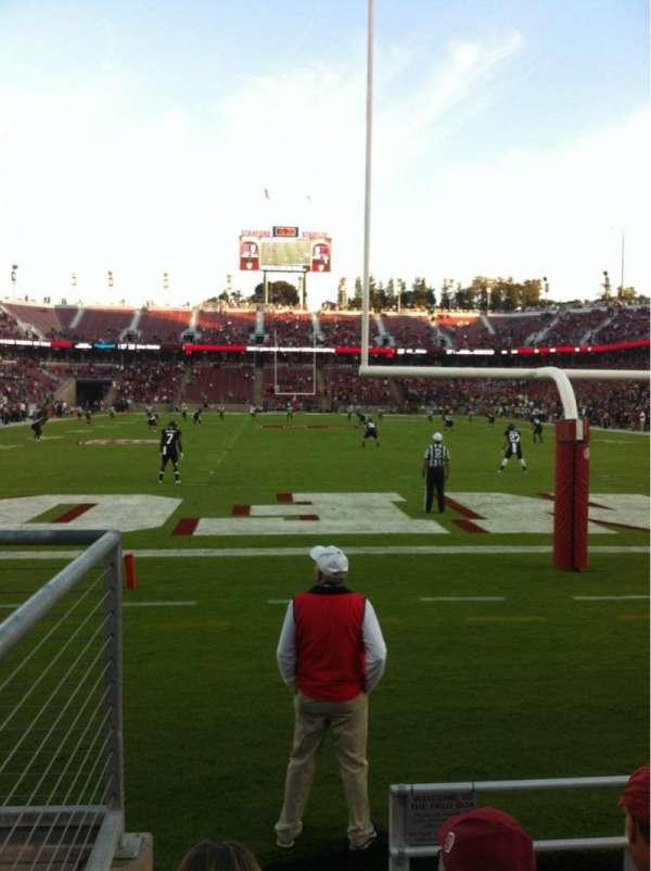 Stanford Stadium, secção: 123, fila: B, lugar: 21