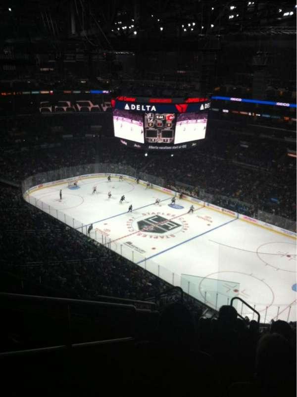 Staples Center, secção: 314, fila: 10, lugar: 13