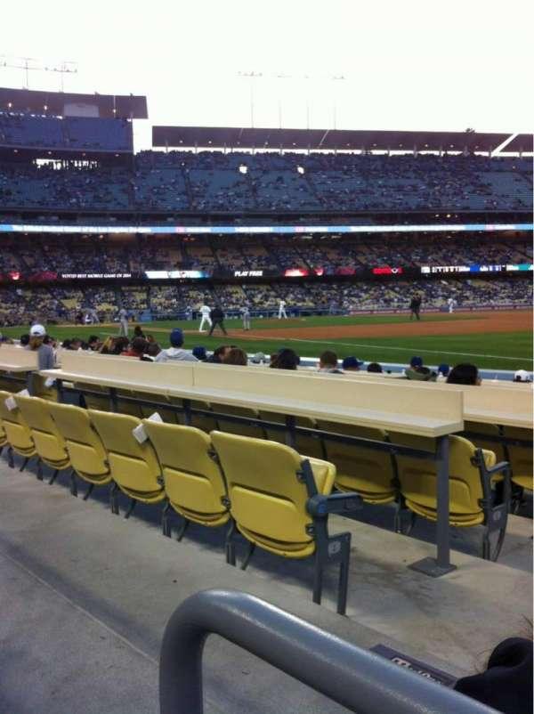 Dodger Stadium, secção: 38FD, fila: A, lugar: 2