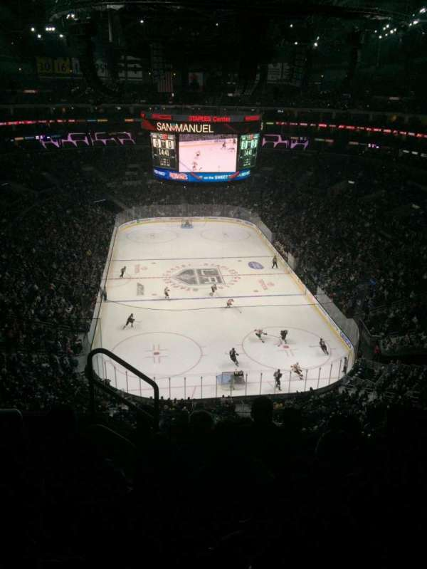 Staples Center, secção: 310, fila: 6, lugar: 11