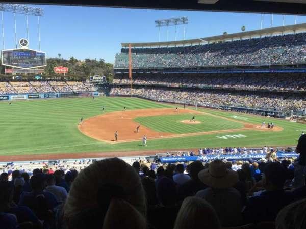 Dodger Stadium, secção: 139LG, fila: S, lugar: 7
