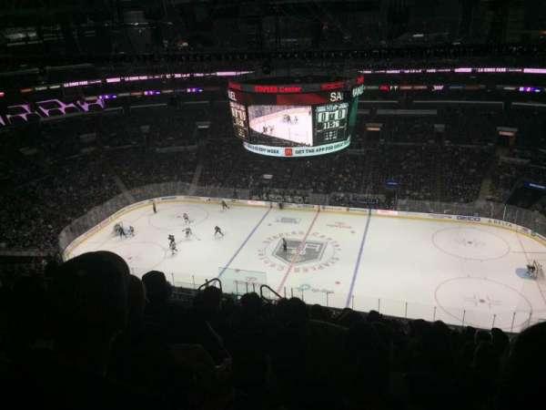 Staples Center, secção: 317, fila: 12, lugar: 8