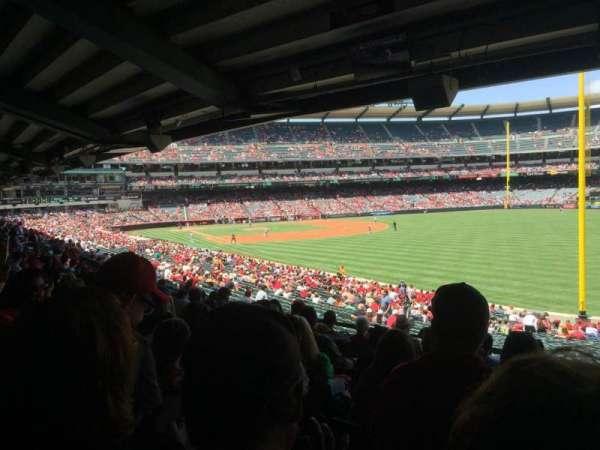 Angel Stadium, secção: T230, fila: J, lugar: 18