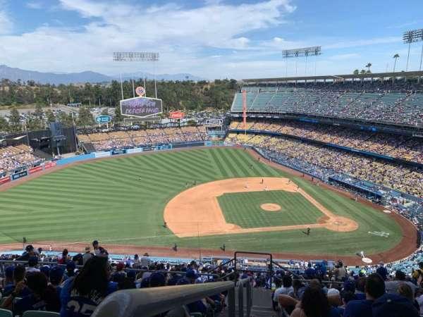 Dodger Stadium, secção: 17RS, fila: JJ, lugar: 23