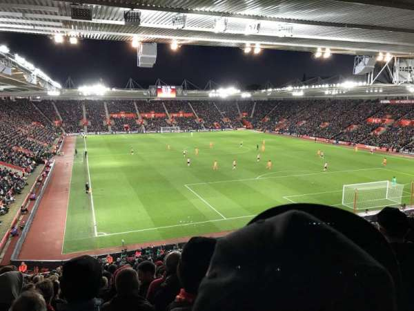 St Mary's Stadium, secção: Away Section Block 46, fila: LL, lugar: 1192