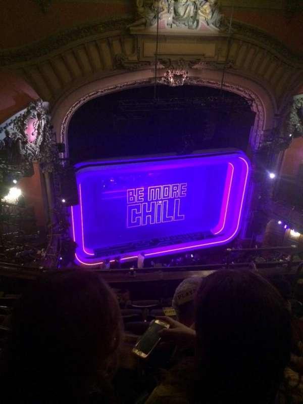 Lyceum Theatre (Broadway), secção: Balcony L, fila: F, lugar: 11