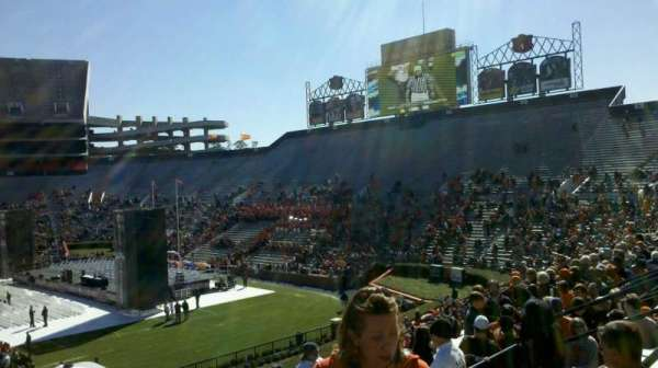 Jordan-Hare Stadium, secção: 9