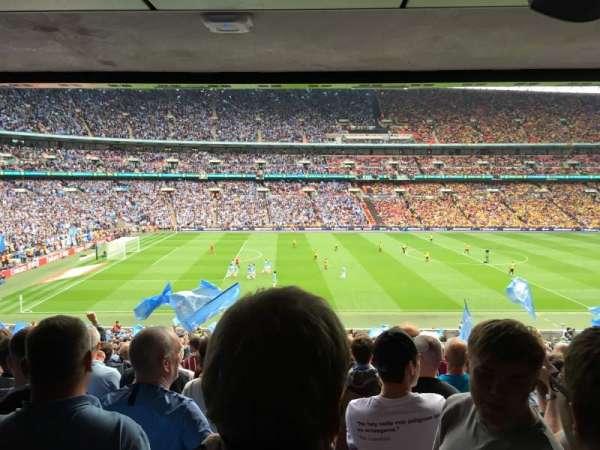 Wembley Stadium, secção: 102, fila: 43, lugar: 11
