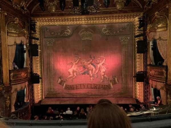 Theatre Royal Haymarket, secção: Grand Circle, fila: B, lugar: 13