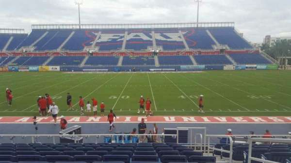 FAU Stadium, secção: 105, fila: L, lugar: 3