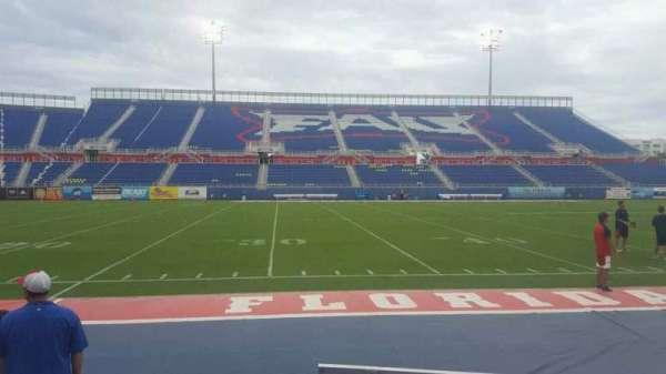 FAU Stadium, secção: 107, fila: A, lugar: 6