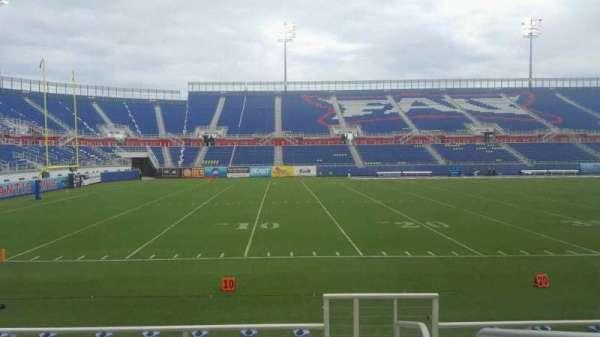 FAU Stadium, secção: 109, fila: F, lugar: 1