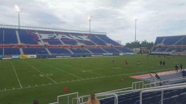 FAU Stadium, secção: 110, fila: F, lugar: 5