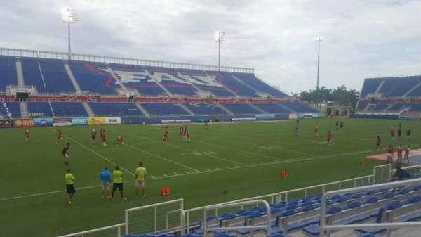FAU Stadium, secção: 111, fila: J, lugar: 5