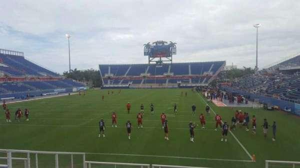 FAU Stadium, secção: 116, fila: M, lugar: 5