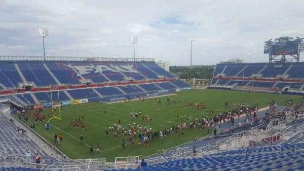 FAU Stadium, secção: 212, fila: Z, lugar: 25
