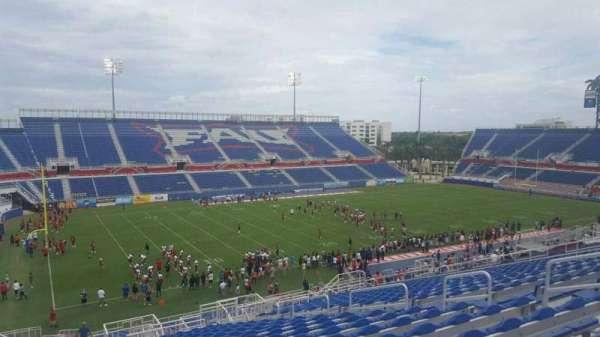 FAU Stadium, secção: 211, fila: Z, lugar: 12