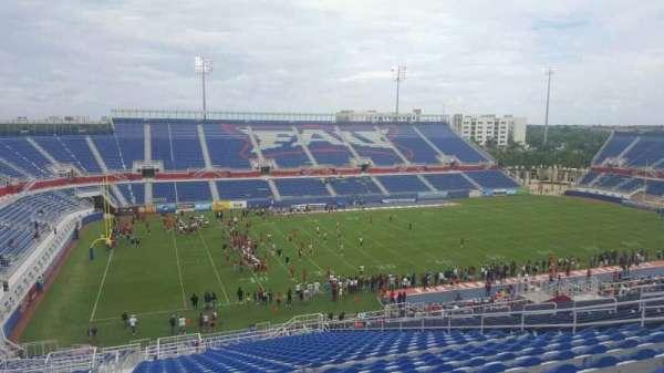 FAU Stadium, secção: 210, fila: GG, lugar: 17