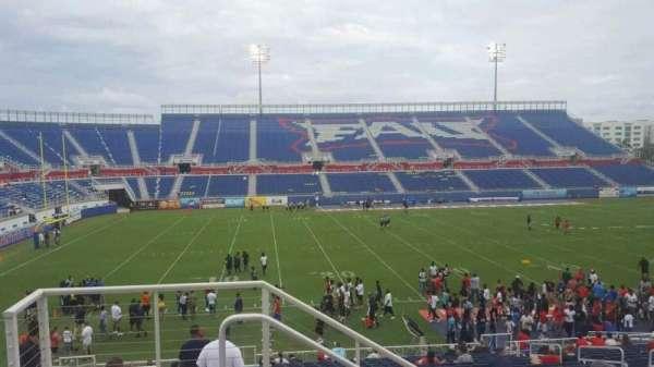 FAU Stadium, secção: 208, fila: D, lugar: 16