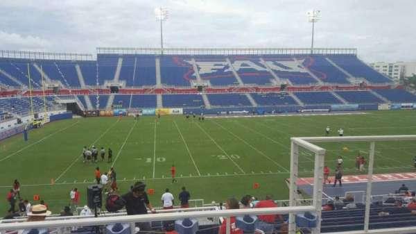 FAU Stadium, secção: 209, fila: C, lugar: 3