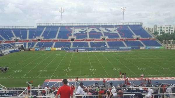 FAU Stadium, secção: 106, fila: R, lugar: 15