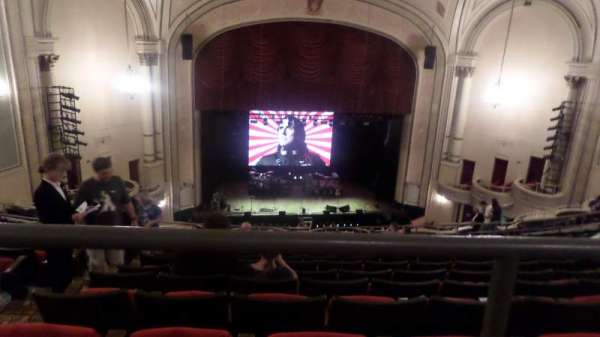 Palace Theatre (Columbus), secção: BALC C, fila: M 112, lugar: B