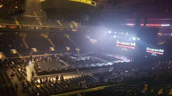 Madison Square Garden, secção: 209, fila: 1, lugar: 12
