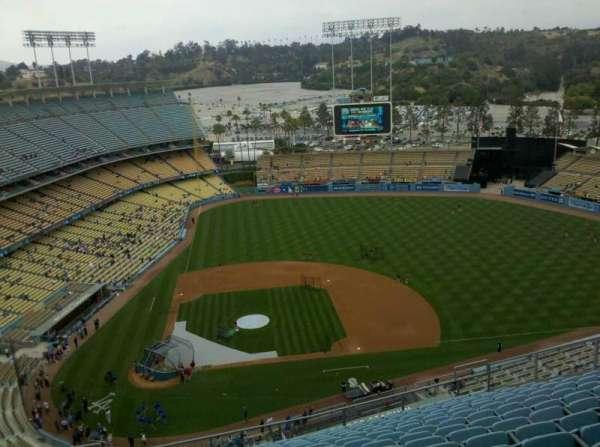 Dodger Stadium, secção: 12TD, fila: R, lugar: 6