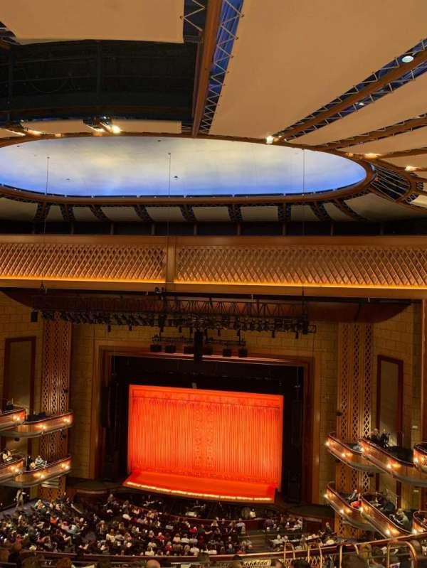 Walt Disney Theatre - Dr. Phillips Center, secção: Upper Balcony, fila: G, lugar: 137