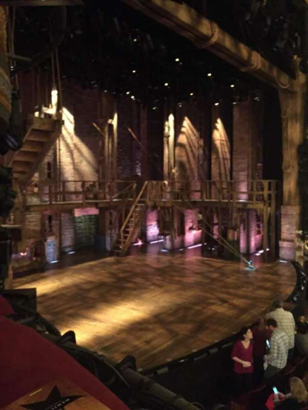 Richard Rodgers Theatre, secção: Box B, fila: 1, lugar: 3