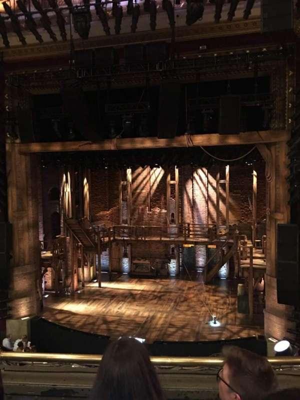 CIBC Theatre, secção: Mezzanine RC, fila: C, lugar: 320