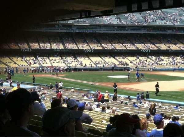 Dodger Stadium, secção: 40FD, fila: X, lugar: 1-8