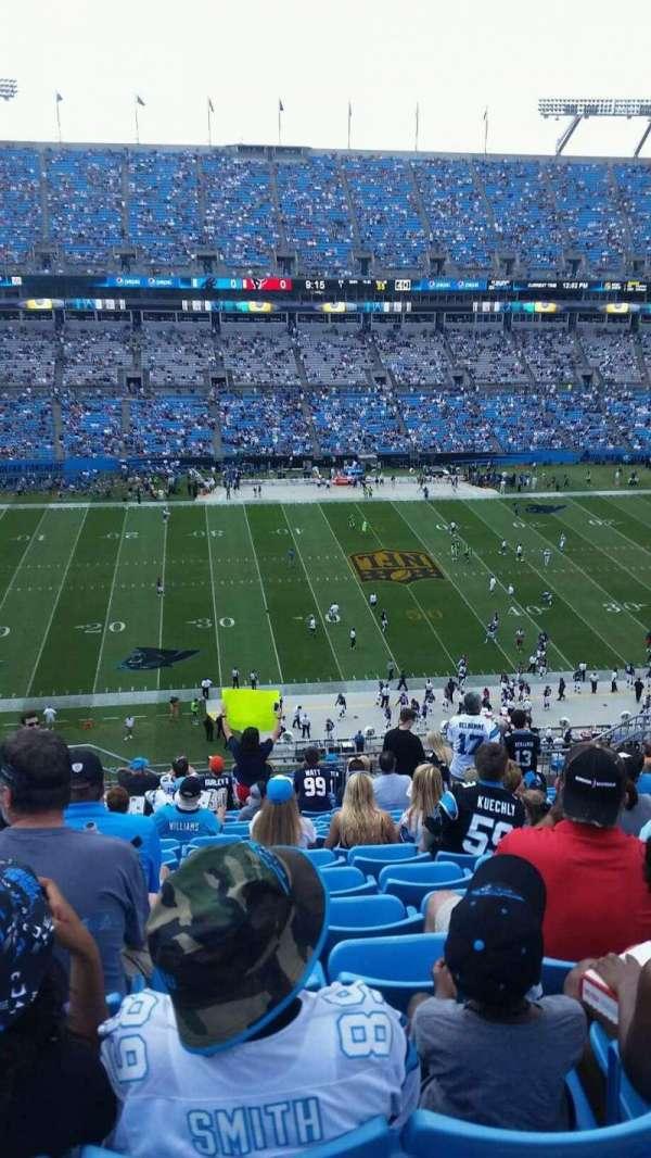 Bank of America Stadium, secção: 516, fila: 13, lugar: 17