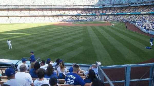 Dodger Stadium, secção: 301PL, fila: F/G