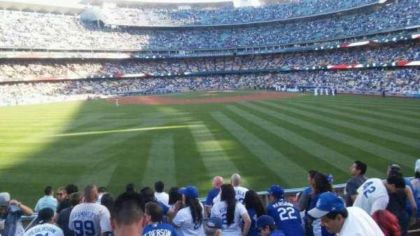 Dodger Stadium, secção: 311/313