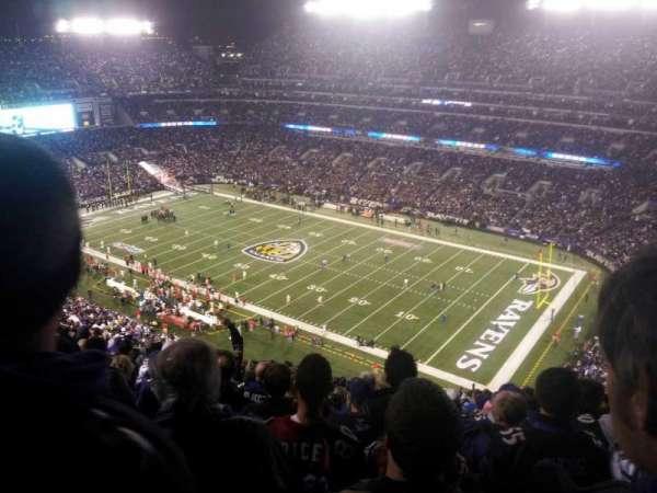 M&T Bank Stadium, secção: 548, fila: 23, lugar: 5