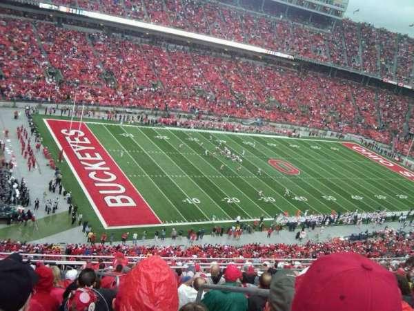 Ohio Stadium, secção: 28c