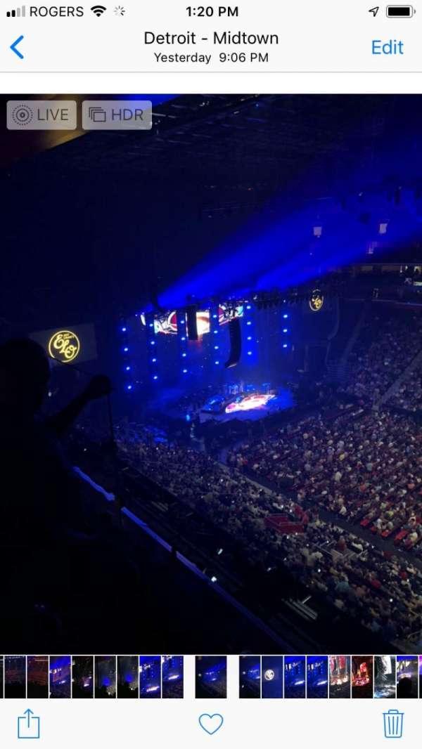 Little Caesars Arena, secção: 225, fila: 2, lugar: 12-15