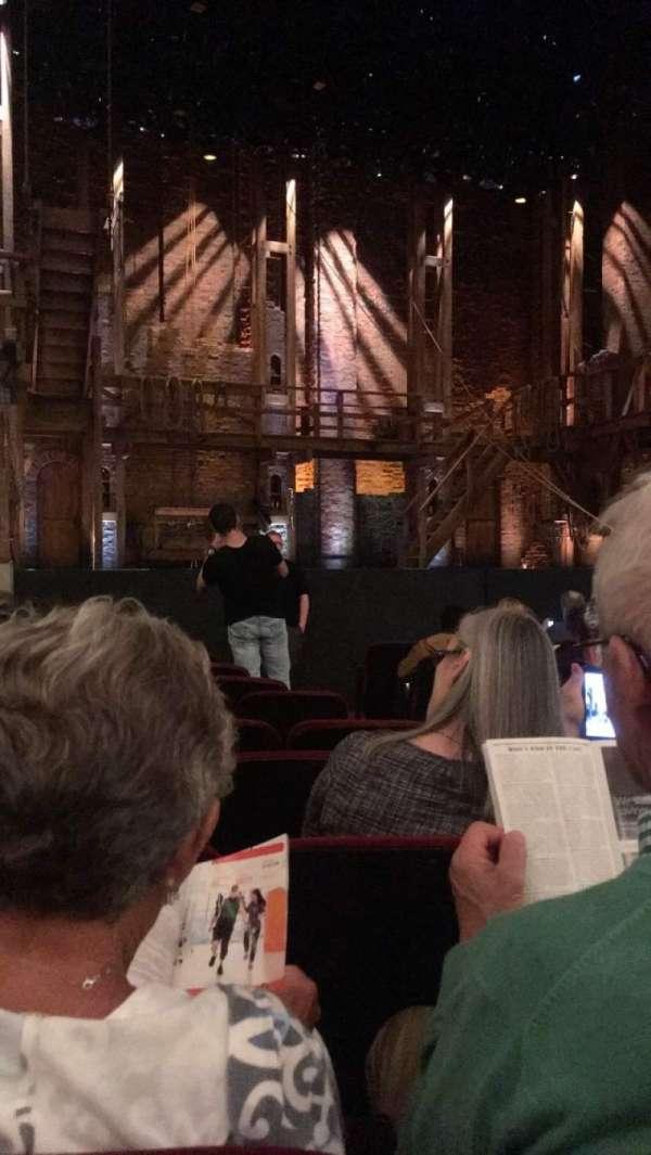 CIBC Theatre, secção: Orchestra L, fila: L, lugar: 5